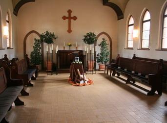 Kapelle innen Gundorf
