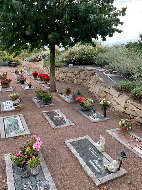 Friedgarten Einzelgräber